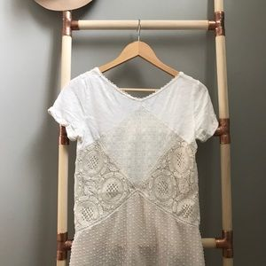 Anthropologie embroidered blouse/tunic